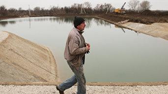 Строительство гидроузла в Крыму