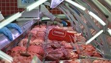 Мясной отдел магазина