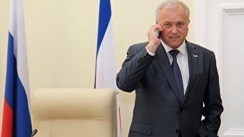 Заместитель председателя Совета министров Крыма Сергей Донич