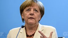 Ангела Меркель на саммите G7