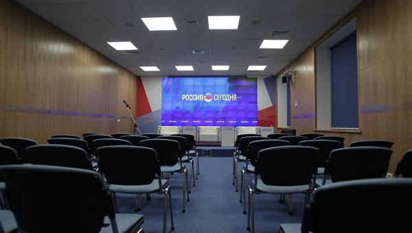 Открытие мультимедийного пресс-центра МИА Россия сегодня в Симферополе