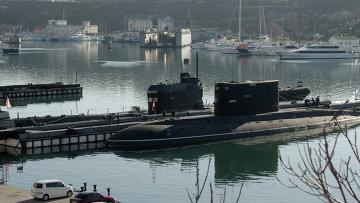 Подлодка Запорожье ВМС Украины в Севастополе