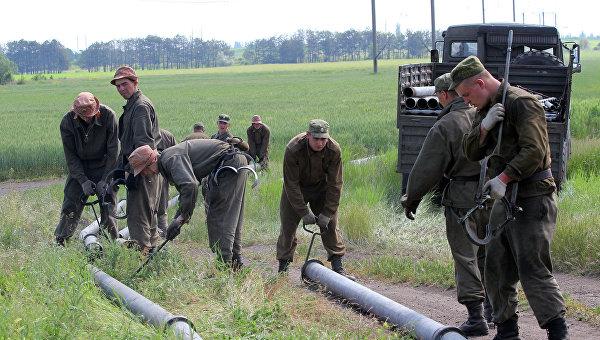 Ситуация с питьевой водой в Крыму
