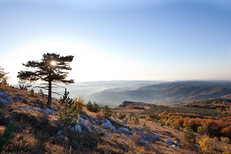 Плато горы Чатыр-Даг