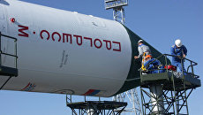Космическая ракета. Архивное фото
