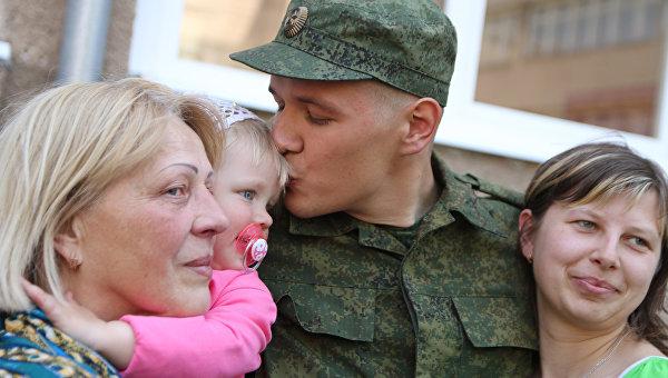 Крымские призывники впервый раз отправятся служить запределы полуострова