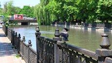 Симферополь. Река Салгир