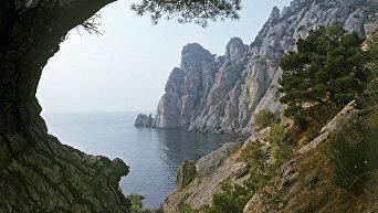 Вид на Южном берегу Крыма