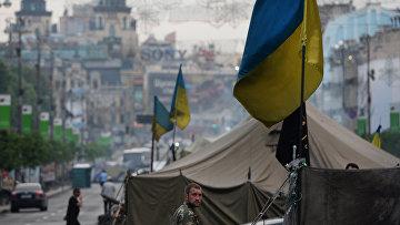 Протесты в Киеве. Архивное фото