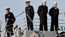 Ракетный эсминец ВМС США