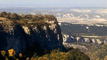Пещерный средневековый город-крепость Мангуп-Кале