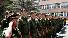 Крымские призывники