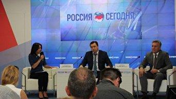 заместитель губернатора – председатель правительства Севастополя Алексей ЕРЕМЕЕВ