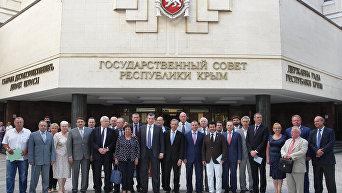 Визит французской делегации в Крым