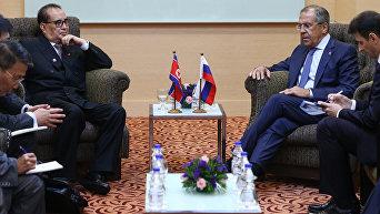 Рабочий визит министра иностранных дел РФ С.Лаврова в Малайзию