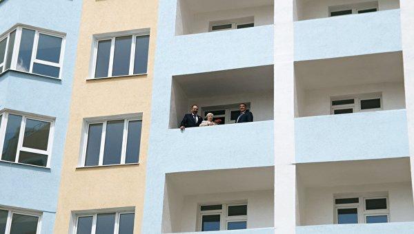 Ветеранам Крыма вручили ключи от новых квартир