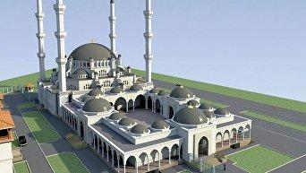 Проект Соборной мечети в Симферополе