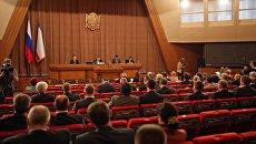 Внеочередное заседание 1-й сессии Госсовета Республики Крым