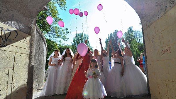 Флешмоб невест