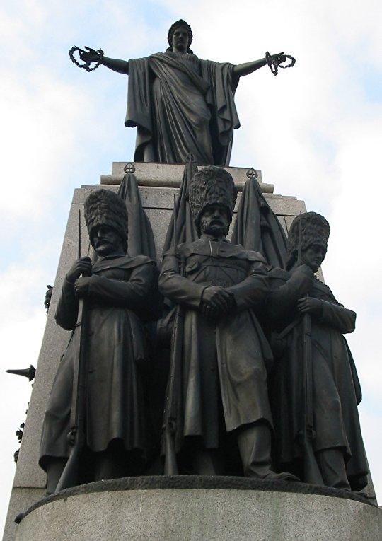 Монумент воинам Крымской войны в Лондоне