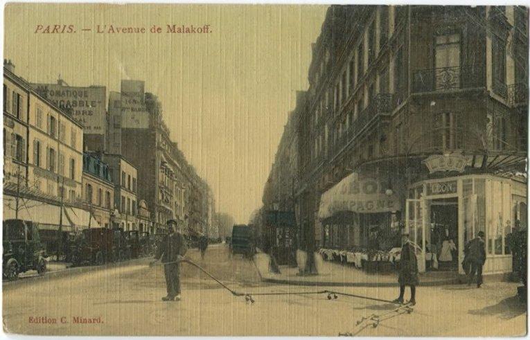 Улица Малахов в Париже
