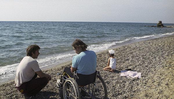 Участники Всесоюзной спартакиады инвалидов