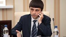 Заместитель председателя Совета министров Республики Крым Руслан Бальбек