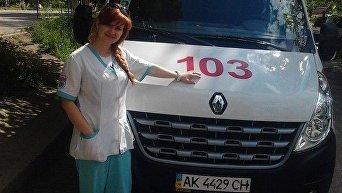 Ирина Суханик 30 лет, Симферополь. Фельдшер на подстанции скорой помощи в Симферополе. Погибла в результате нападения злоумышленника