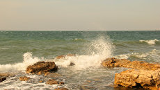 Море осенью у берегов Херсонеса