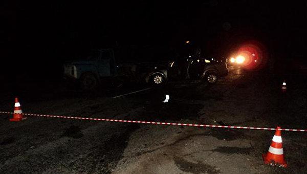 Три человека погибли при столкновении ВАЗа сэлектроопорой