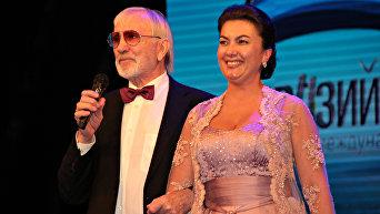 Виктор Мережко и Арина Новосельская на кинофестивале Евразийский мост в Ялте
