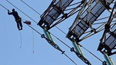 Ремонт линии электропередач