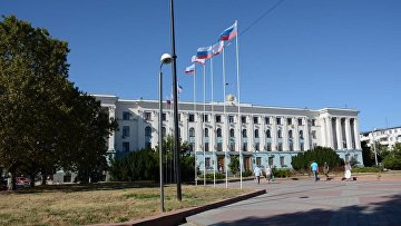 Здание Совета Министров в Симферополе