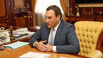 Председатель Государственного комитета по государственной регистрации и кадастру Республики Крым Александр Спиридонов.
