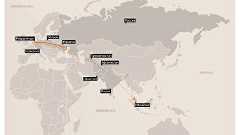 Расследование крушения малазийского боинга