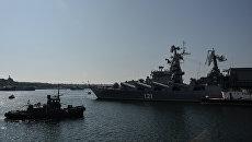 Сторожевой корабль Ладный Черноморского флота России