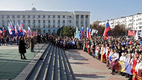 ВСимферополе готовятся обозначить День народного единства