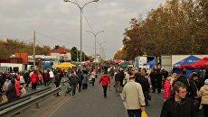 Ярмарка в Симферополе. Архивное фото