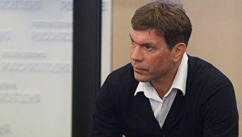 Бывший глава парламента Новороссии Олег Царев