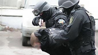 Задержание наркоторговца ФСКН