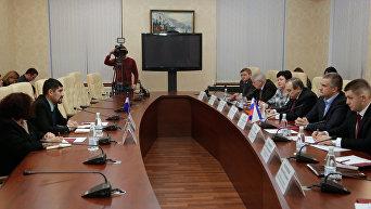 Посол Никарагуа в РФ Хуан Эрнесто Васкес Арайя посетил Крым