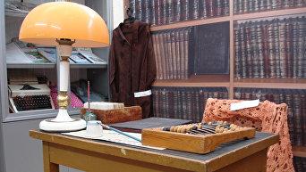Рабочее место крымского библиотекаря 1960-1970-х годов. КРУ научная библиотека им. Франко в Симферополе