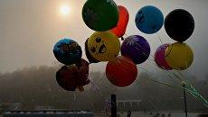 Воздушные шары. Архивное фото