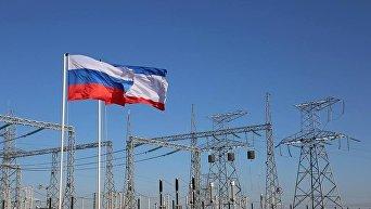 Запуск второй ветки энергетического моста из Кубани в Крым