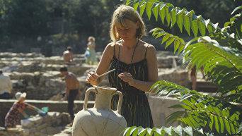 Участок археологических раскопок