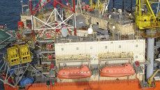 Буровая вышка Черноморнефтегаза