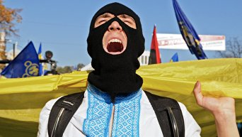 Митинг националистов в Киеве. Архивное фото