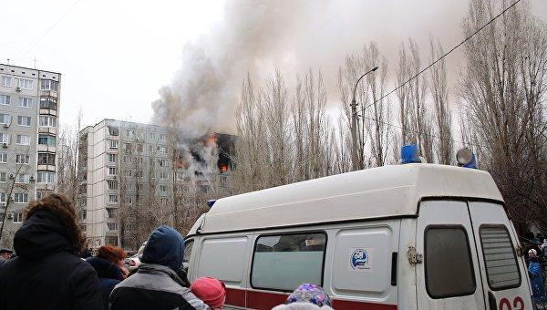 Взрыв бытового газа в многоэтажном доме