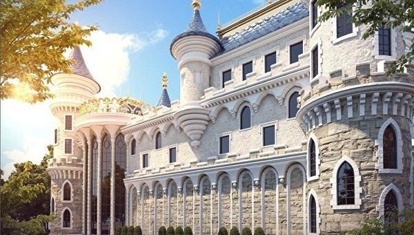 Проект нового кукольного театра в Симферополе