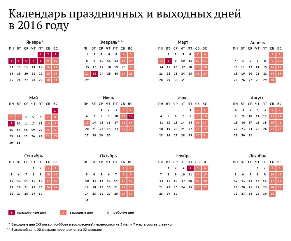 картинка календарь 2016